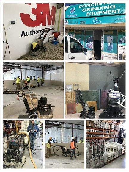 Xingyi Trip To Australia-Visit Our Friend And Share Floor Grinding and Concrete Polishing